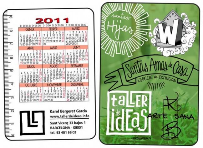 calendario 2011 taller de ideas