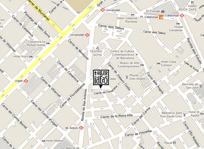 mapa taller de ideas